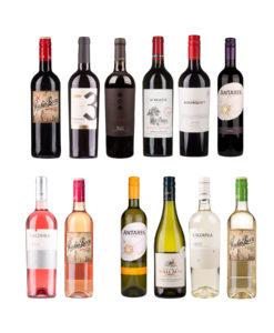 Wine at Home proefdoos rood, wit en rose