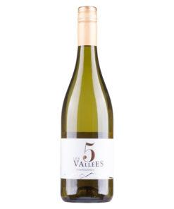 Frankrijk Les 5 Valees Chardonnay